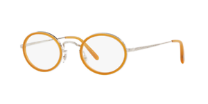 50b1a001b60 Authentic Oliver Peoples MP-8 30TH 1215 - 5063 Eyeglasses Amber NEW ...