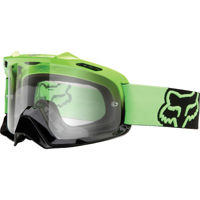 Fox Racing Airspc Goggle Day Glo Green-Black//Clear One Size 06333-905