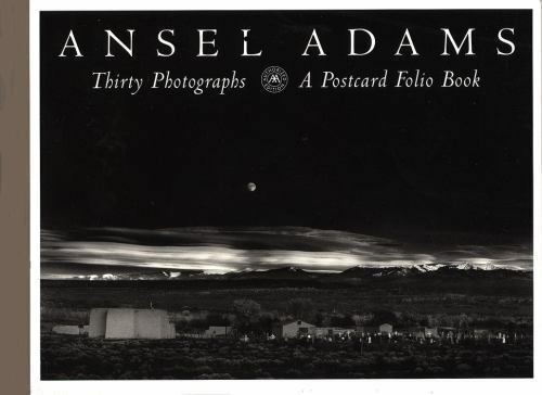 ansel adams postcards winter photographs by ansel adams 1994 12 01