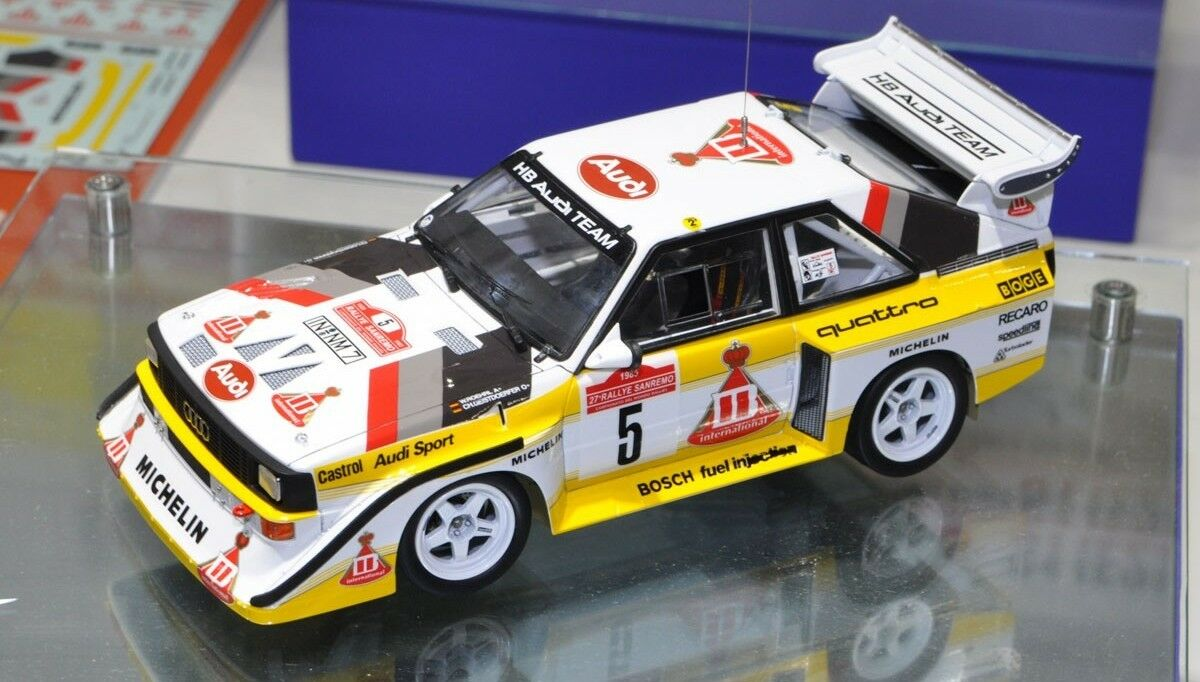 Audi QUATTRO S1 CORTA RALLY'85 86 Kit sc.1 24