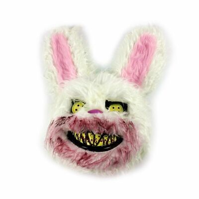 Cosplay Creepy Scary Bunny Rabbit Masks for Groups and Couples Costume Masquerades and Other Fun Times. Set of 3 Film /& Movie Props for Photo Shoots