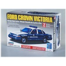 Lindberg 1990's Ford Crown Victoria Georgia State Police Car model kit 1/25