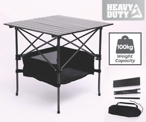 TRA 70x70cm  Portable New Outdoor Camping Table Folding Picnic Rv Caravan  waiting for you