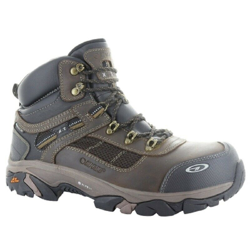 Hi-Tec H-57038 para hombre X-T Carbon Elite Mid botas Zapatos De Trabajo Impermeable WP360 CT