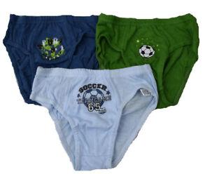 Kinder-Schluepfer-Neu-Jungen-Schluepfer-3Tlg-Jungen-Unterhose-Set-Bis-140-Slip-s