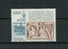 Italia 1995 9° centenario consacrazione basilica cluniacense di Pontida MNH