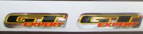 GT EXPERT Stickers //bmx //RED//YELLOWBLACK//CHROME 2 Set of FREE SHIPPING