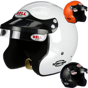Bell-Sport-Mag-SA2015-Helmet-Open-Face-Auto-amp-Boat-Racing-Snell-Rated-Helmet