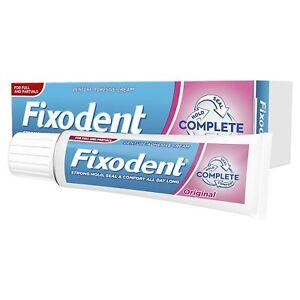 Fixodent Denture Adhesive Cream Original 47g 749447542697