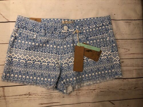 Brave Blue Size 14 Shorts Ladies Uk Eur large Soul Bnwt 42 1zxq5I