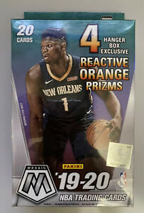 19-20-PANINI-MOSAIC-BASKETBALL-HANGER-BOX-FACTORY-SEALED-REACTIVE-ORANGE-PRIZM