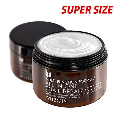 [MIZON] All In One Snail Repair Cream 120ml [Super Size] / Anti-wrinkle function