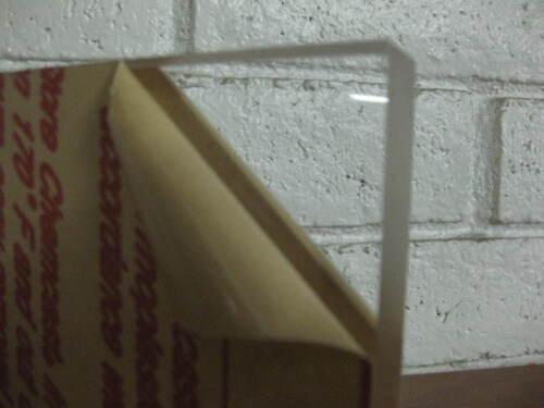 "2 INCH THICK !CAST ACRYLIC PLEXIGLASS SHEET//BLOCK//SLAB CLEAR 2/"" X 8/"" X 8/"""
