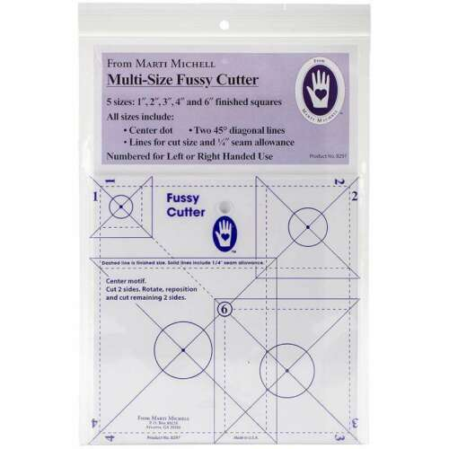 Multisize Fussy Cutter Ruler  715363082975