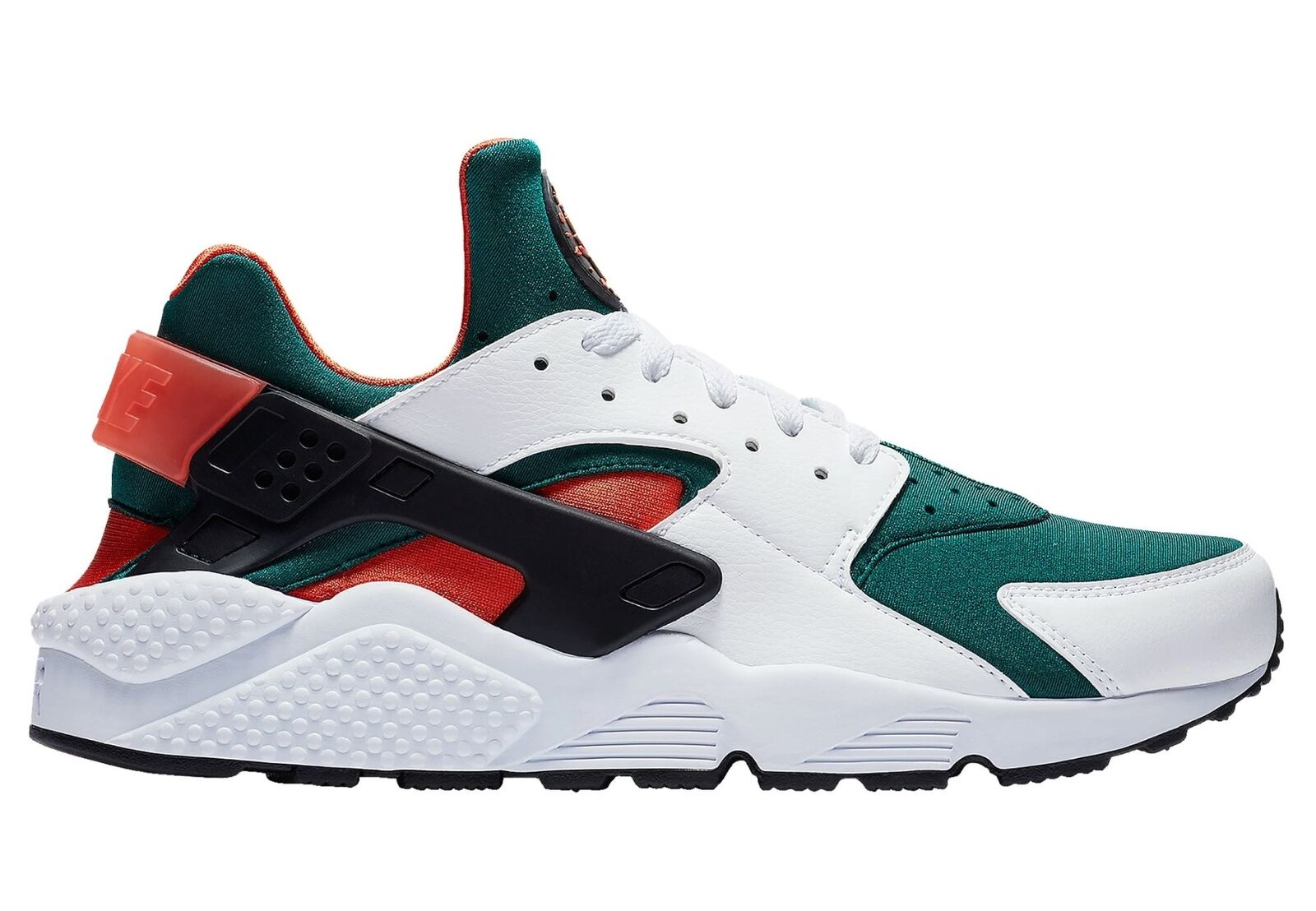 Nike Air Huarache SE Hurricanes Mens AT4254-102 Rainforest Mango Shoes Comfortable Special limited time