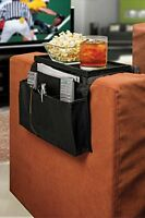 Tv Remote Control Organizer Holder With Clamp Drapes Over Sofa Arm - 6 Pockets F on Sale