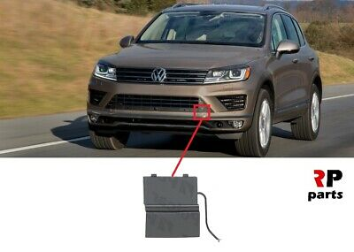 FOR VW TOUAREG 2007-2010 NEW FRONT BUMPER TOW HOOK EYE COVER CAP LEFT
