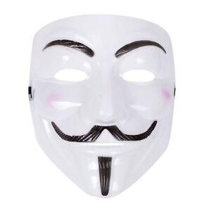 Unisexe-Anonymous-Guy-Fawkes-Masque-1605-La-poudre-a-canon-parcelle-Halloween-Deguisements-Masques
