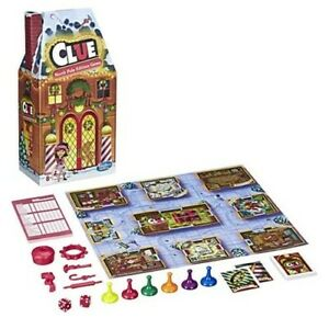 Clue-North-Pole-Holiday-Edition-Board-Game-Christmas-Hasbro-Brand-New
