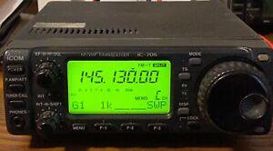 Icom Ic 706 Used Ham Radio Transceiver Ebay