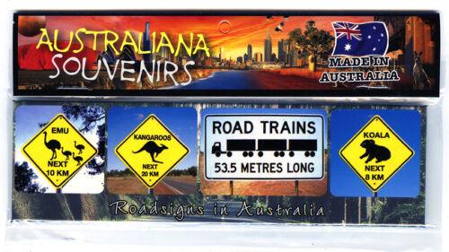 Koala Australia Roadsigns Photo Image Fridge Magnet Souvenir Kangaroo Emu