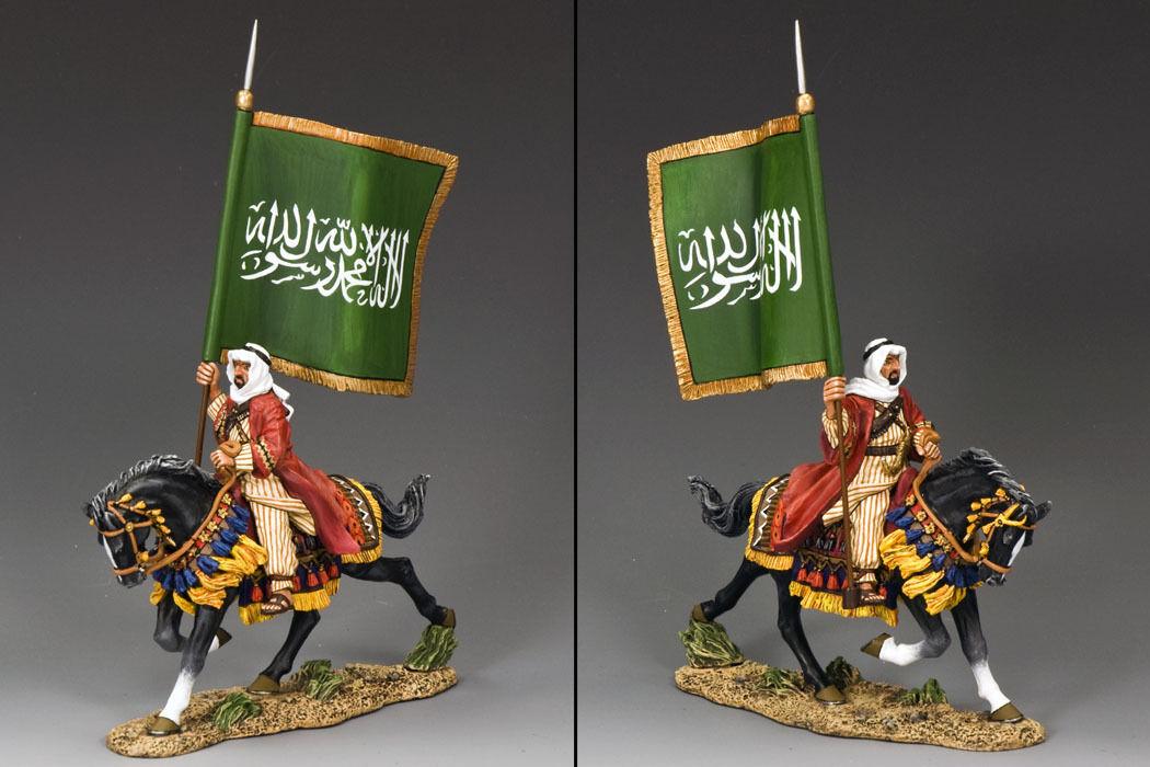 KING OCH LÄNDERS LABRENHET FÖR ARABIA LOA004 ARABIAN FLAGBEARER MIB