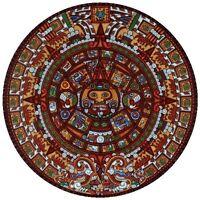 Dowdle Folk Aztec Calendar 500pc Round Jigsaw Puzzle by Eric Dowdle Toys