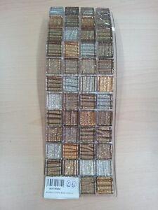 Mosaico-su-rete-stripe-beige-Foglio-30x30