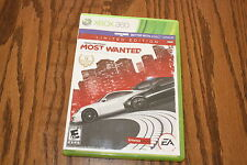 Need for Speed: Most Wanted - Limited Edition (Xbox 360 2012) Used Complete