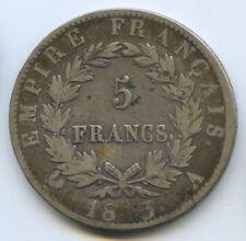 FRANCE NAPOLEON Ier 5 FRANCS 1813 A PARIS