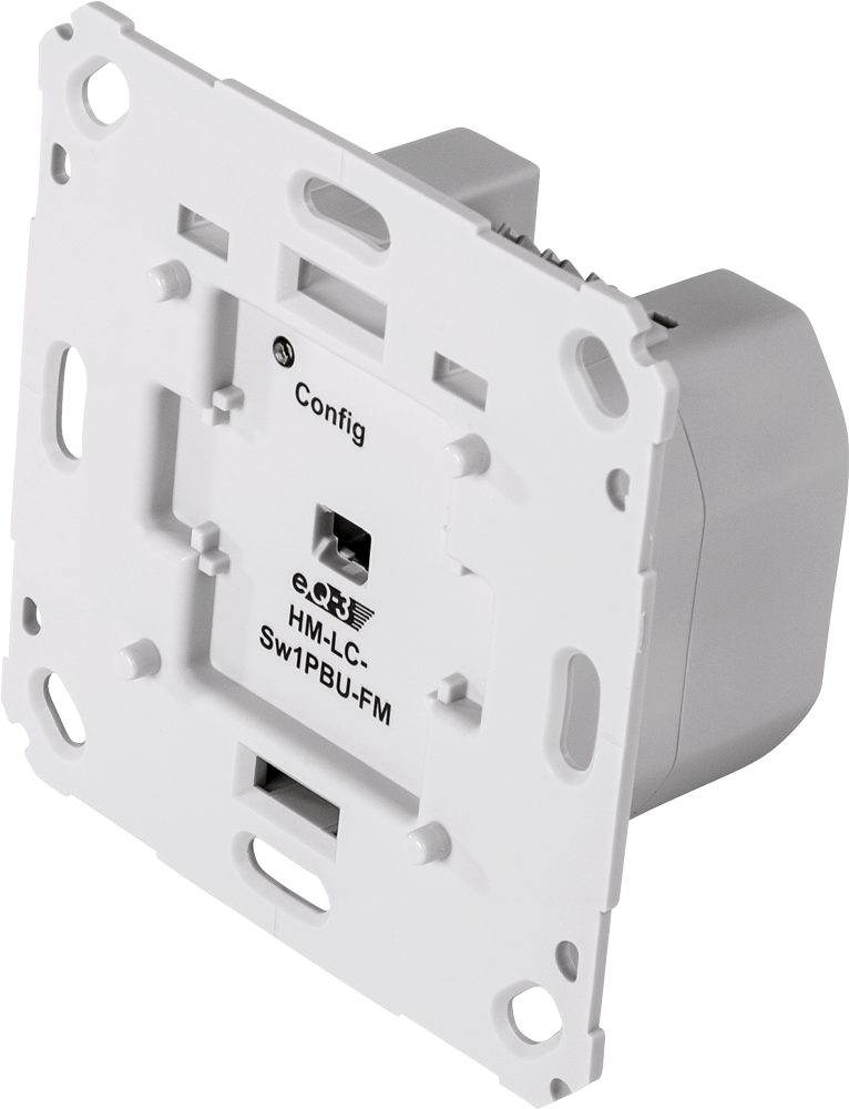 Funk-Schaltaktor 1-fach Homematic HM-LC-Sw1-PBU-FM 103029 für Markenschalter