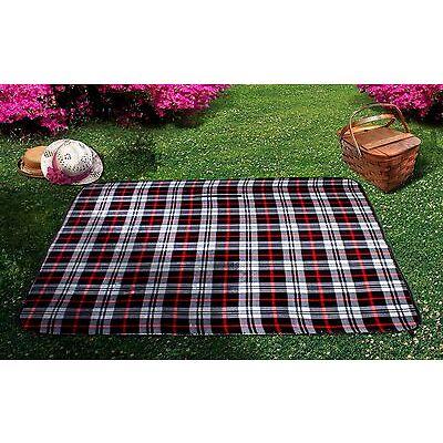 "Waterproof Picnic Blanket – 50"" x 60"" Large Beach Blanket Or Outdoor Picnic Mat"