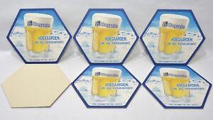 FLOREFFE BIERE 6 Sous-bocks sous-verre carton NEUF