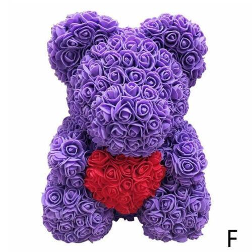 Blumenbär Schöne Bärenliebhaber Geschenk Hochzeit Rosenbär Weihnachtsgeschenk