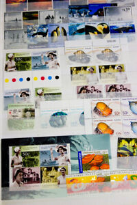 Worldwide-Modern-Mint-NH-Stamps-New-Issues-Selection