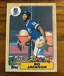1987-Topps-170-Bo-Jackson-RC-Royals