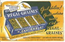 Buvard Régal-Graines.