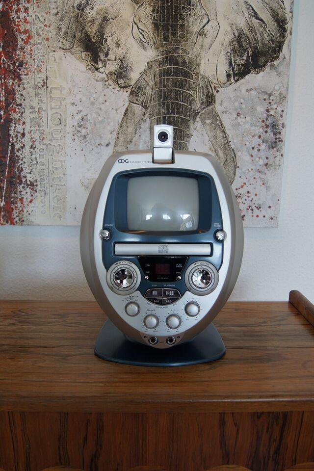 Karaoke anlæg, CDG Karaoke system