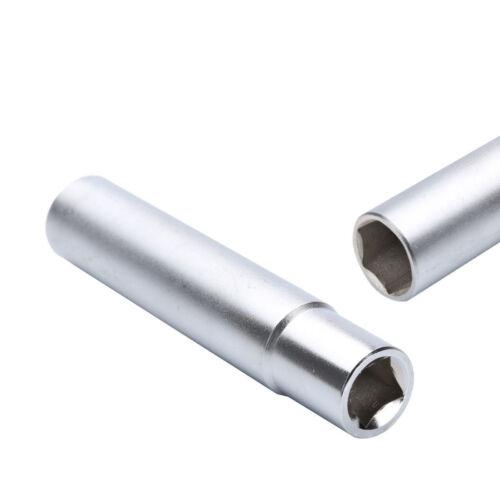 32PC 14x1.5 Solid Spike Lug Nuts Black With Key 4.4/'/' Tall F250 F350 Silverado