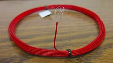 25 feet 22 AWG Silver Plated PTFE Wrap Wire Red 19 strand Gore