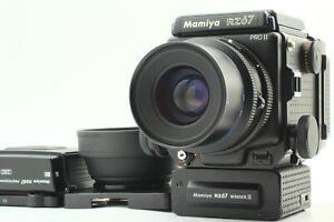 Quasi-Nuovo-3-Mamiya-RZ67-Pro-II-Sekor-Z-90mm-F3-5-W-120-Film-Retro-dal-Giappone