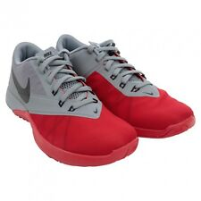 NIKE FS LITE TRAINER 4 SNEAKERS grey red and black 844794 600 size 11.5