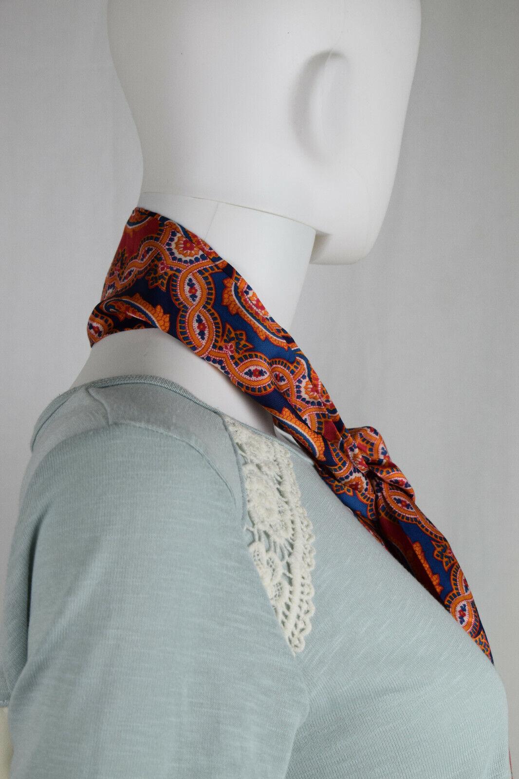 Unbranded Women's Silk Multicolored Neck Tie,#D29