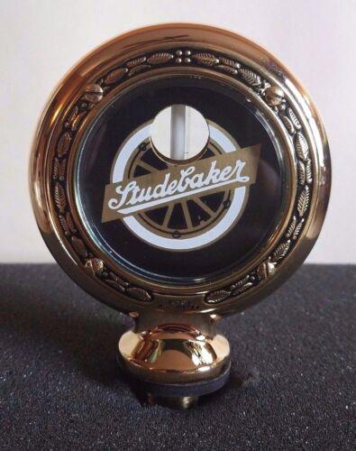 "Studebaker Boyce Senior Motometer Brass With Wreath Rim 3-3//8/"" Diameter"