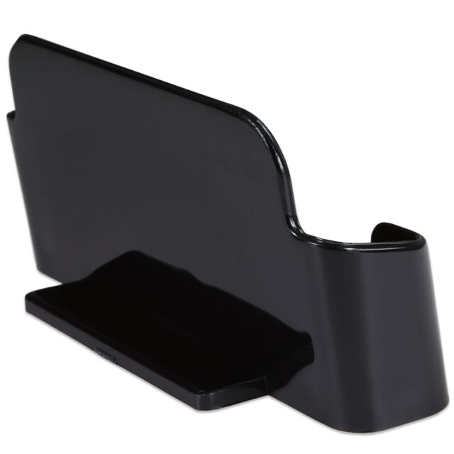 48pcs Black Acrylic Business Card Holder Display Stand Desktop Countertop for sale online