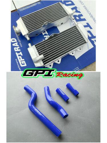 FOR Yamaha YZ250 YZ 250 2002-2018 2004 2005 aluminum radiator and  hose