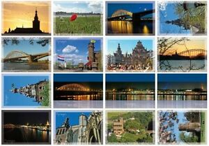 lot-of-800-Postcards-Nijmegen-Netherlands-post-card-50-sets-Ansichtkaarten-AK