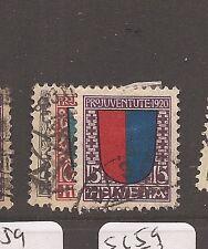 Switzerland SC B15-7 VFU (6ayv)