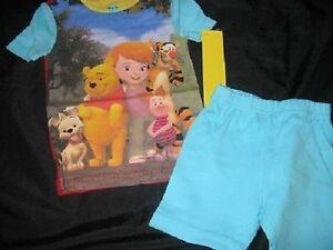 0c75b0900710 Disney Girl WINNIE the POOH PJs PJ Pals Pajamas Shorts 2T 24 Tigger ...