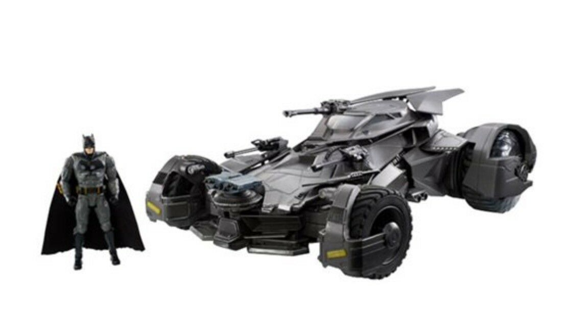 MTFKM40: Mattel Justice League Movie Ultimate Batmobile RC Car & Batman Figure